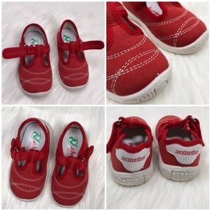 Naturino Shoes - NEW NATURINO Red Mary Jane Sneakers EU 20 / US 4.5